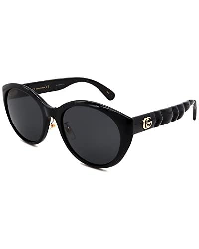 Gucci GG0814SK Negro/Gris 56/20/150 Mujer Gafas de Sol