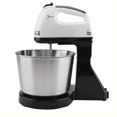 LJD 230 V huishouden 7 snelheden elektrische mixer tafelstandaard taart-deeg mixer roestvrij staal hand Egg Beater Mixer bakken slagroom 2 kg kneedmachine