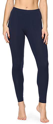 Merry Style Leggins Mallas Pantalones Largo Ropa Deportiva Niña MS10-408 (Azul Marino, 170)