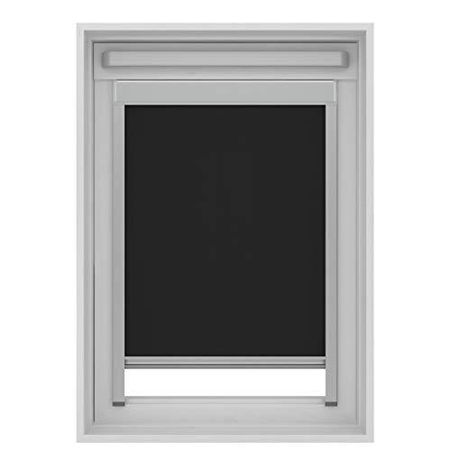 Gamma - Estor para ventanas de techo Velux M06/306 (78 x 118 cm), negro