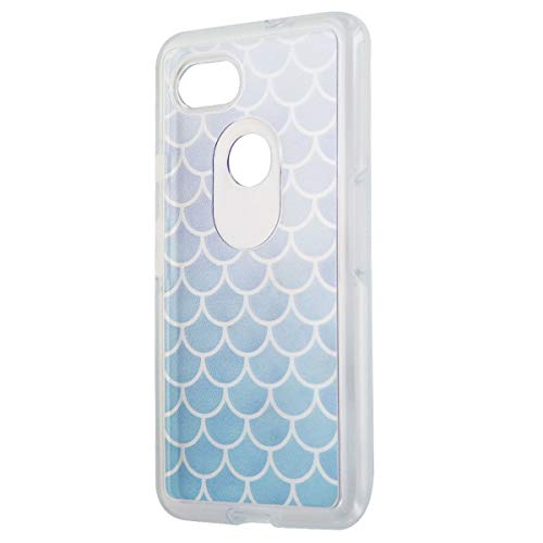 OtterBox Symmetry Series Hybrid Case for Google Pixel 2 XL - Clear   Blue Scales