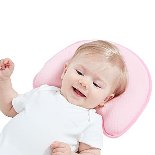 HXPainting Almohadas Bebé Almohada Desenfundable para Prevenir Cabeza Plana De Bebés Recién Nacidos (0-12 Mes)