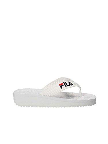 Fila 1010290 Flip Flops Man White 45