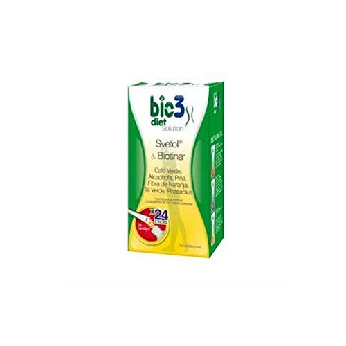 BIODES BIO3 DIET SOLUTION SVETOL & BIOTINA 24 STICKS SOLUBLES