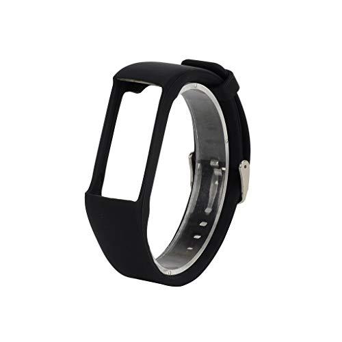 für Polar A370 Smart Watch Sportuhr Armband - Quick Fit Weiches Silikon Sportarmband Uhr Band Strap Ersatzarmband Uhrenarmband für Polar A370 Smart Watch Replacement Strap Watch Band (Schwarz)