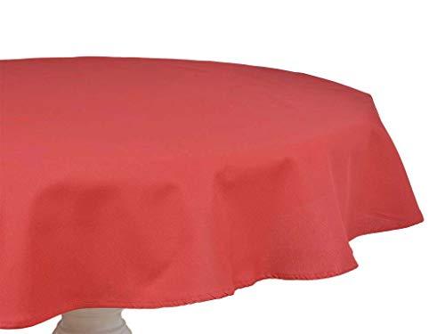 Mi Casa Mi tafelkleed, rood, 150 cm, 150 cm