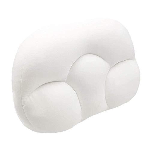 DFDFG Allround-Schlafkissen Allround-Wolkenkissen Stillkissen Schlafgedächtnisschaum Eiförmige Kissen Schlafkissen Wolken Kissen, Tiefschlafsucht 3D Ergonomisches Kissen Waschbar
