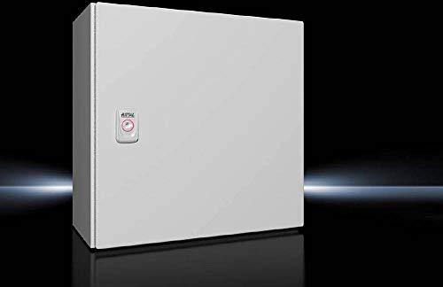Rittal AX 1380.000 Schaltschrank 380 x 380 x 210 Stahlblech Lichtgrau (RAL 7035) 1St.