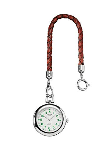 Regent P-039 - Reloj de Bolsillo (Mecanismo de Cuarzo), Color Cromado