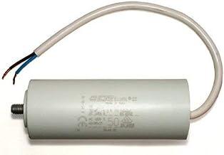 ATIKA ErsatzteilKondensator 50µF für Gartenhäcksler MHA 2800 MHD 2800