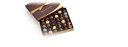 GODIVA Chocolatier Assorted Truffles Signature Gift Box Chocolate, 35.2 Ounce