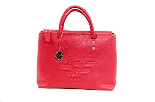 Emporio Armani Eagle Logo Damen Handtasche Rot