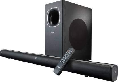 (Renewed) MarQ FS23S 120 W Bluetooth Soundbar (Black, Stereo Channel)