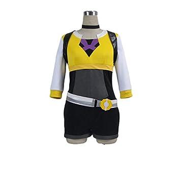Pokémon GO Pokemon Pocket Monster Trainer Female Yellow Cosplay Costume2486  Female XL