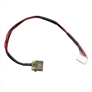 AC DCジャック電源プラグ、充電ポートコネクタソケット、ワイヤケーブルハーネス交換用 Acer Nitro 5 AN515-42 AN515-42-R5ED N17C1 DC301010K00 50.Q2CN2.002