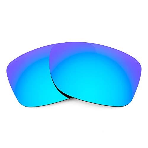 Revant Revant Ersatzgläser für Oakley Jupiter Factory Lite - Kompatibel mit für Oakley Jupiter Factory Lite, Polarisiert, Eisblau MirrorShield