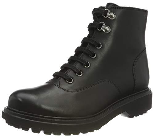 GEOX D ASHEELY D BLACK Women's Boots Biker size 39(EU)