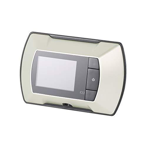6 cm LCD visuell bildskärm dörr titthål kikhål tittare kamera video silver