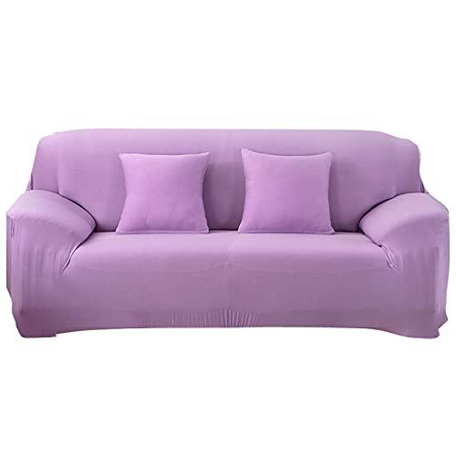 WXQY Fundas Antideslizantes elásticas de Color sólido Funda de sofá Antideslizante para Mascotas Funda de sofá para Mascotas Esquina en Forma de L Funda de sofá Antideslizante A9 3 plazas