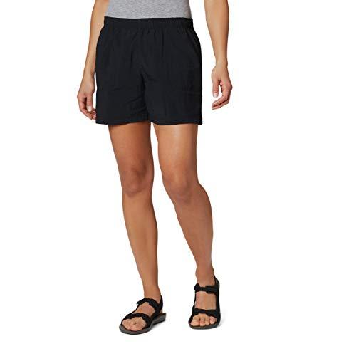 Columbia Women's Plus Size Sandy River Short, Black, 2X x 6