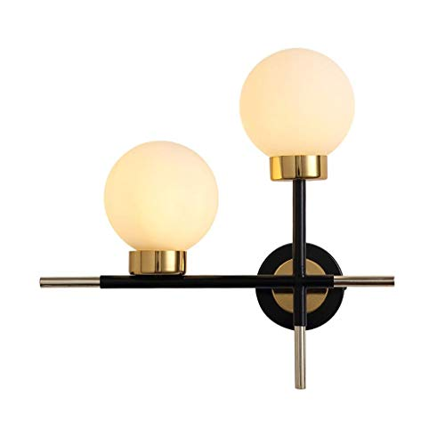 Wall Lamp Frosted Glass Ball Study Aisle Corridor Stair Light Living Room Bedroom Lamp durable