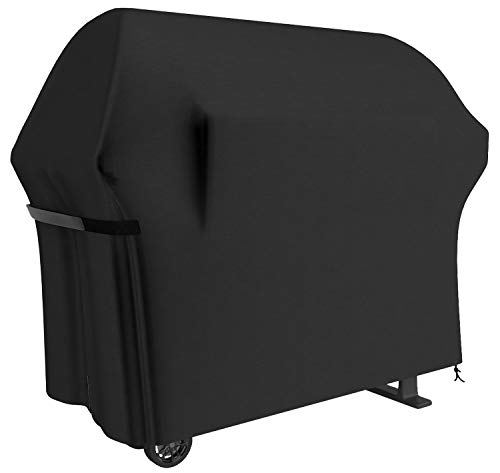 Grill Cover 58 Inch BBQ Grill Cover Waterproof Gas Grill Covers Heavy Duty Patio Outdoor Barbecue Grill Cover Dustproof Windproof Anti UV and Tear Resistant