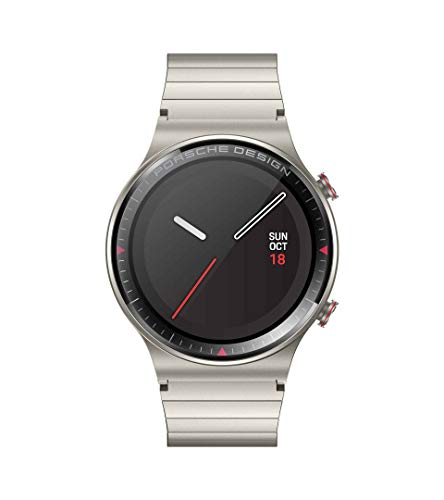 Porsche Design Watch GT 2 4GB VID-B19 3,5 cm Bluetooth Smartwatch (Titan)