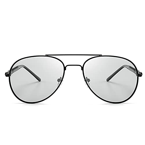 RWEAONT 2020 Gafas de Sol fotocrómicas Hombres polarizados Sunglesses Driving Chameleon Gafas de Sol Cambiar Color Hombres Gafas de Sol (Lenses Color : C1)