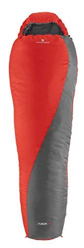 Ferrino Yukon Pro Sacco a Pelo, Unisex Adulto, Rosso, Taglia Unica