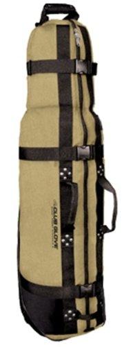 Burst Proof Golf Travelbag 2 with wheels / Bolsa de Golf de viaje con ruedas (Khaki)