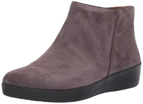 FitFlop Women's Boot Sumi, Steel Grey, 8.5 M US