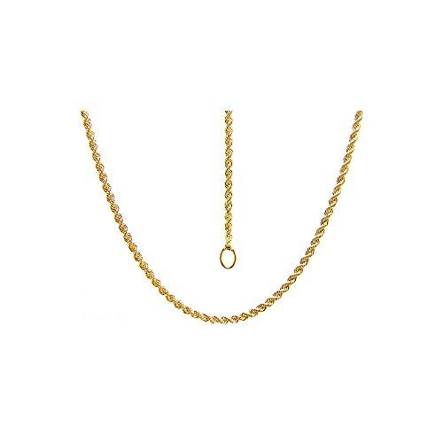 Catenina a fune 50 cm in oro giallo 18kt