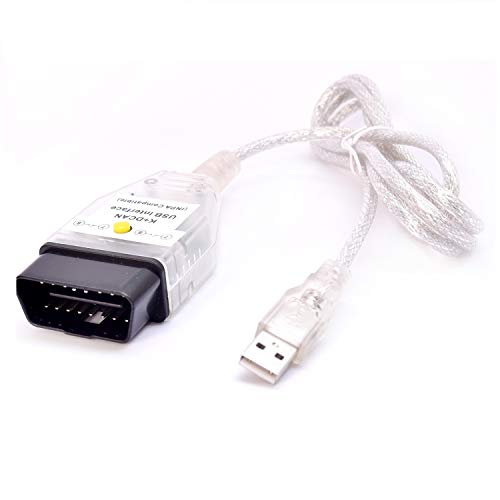 AntiBreak Ediabas D can INPA K+ CAN Cable with Switch DCAN Interface Coding Support E serials Interface for R56 E87 E93 E70