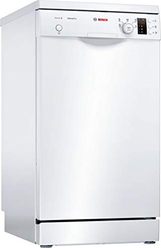 Bosch Serie 2 SPS25CW05E lave-vaisselle Autonome 9 places A+ - Lave-vaisselles (Autonome, Compact (45 cm), Blanc, Blanc, Boutons, Rotatif, 1,75 m)