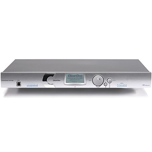 ClearOne Converge Pro 880 | 8 Channel AEC Microphone Mixer 910-151-880