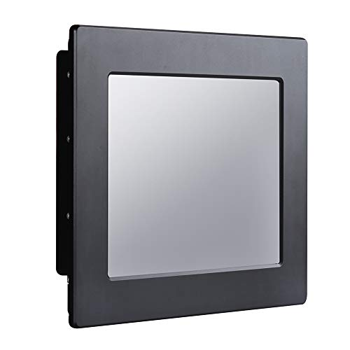 IP68 Full Waterproof 10.4 Inch Industrial Panel PC All In One,Resistive Touch Screen,Windows 7/10/Linux,Intel J1900,(Black),[HUNSN WD17],[1RS485/2RS232/2LAN/3USB2.0/1USB3.0/FANLESS],(8G RAM/128G SSD)