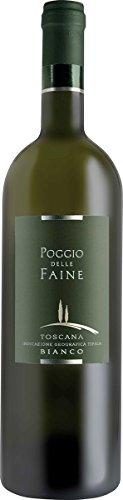 Poggio delle Faine Bianco IGT von Poggio delle Faine aus Italien/Toskana (1 x 0,75 l)