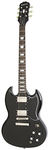 Epiphone G-400 Pro Electric Guitar with Coil-Splitting, Right Handed, Guitar, Ebony