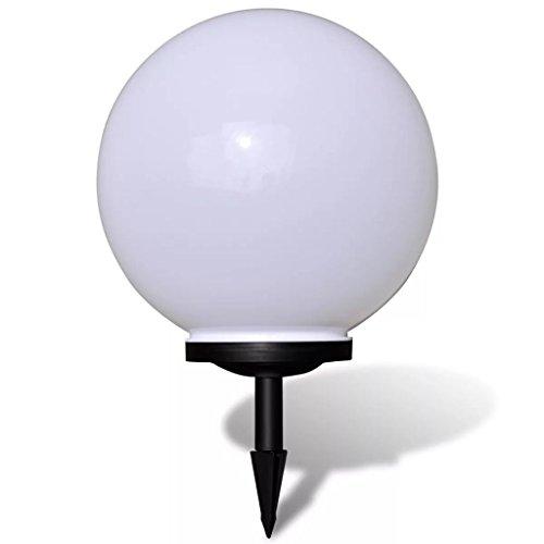 vidaXL Gartenlampe 40 cm LED Gartenleuchte Solarkugel Solarlampe Solarleuchte