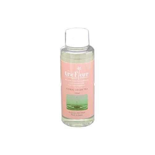 Aroma Japan Import Une Fleur Fragrance Oil Floral & Brend 100ml - Floral Green Tea (Harajuku Culture Pack)