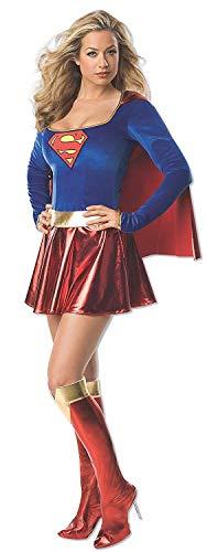 Rubbies - Disfraz de Supergirl para mujer, talla 40-42 (I-888239M)