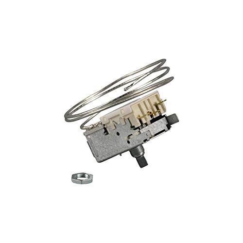 Termostato para Ranco K59-H1346 K59H1346 Bosch Siemens 00167222 00167223 para refrigerador