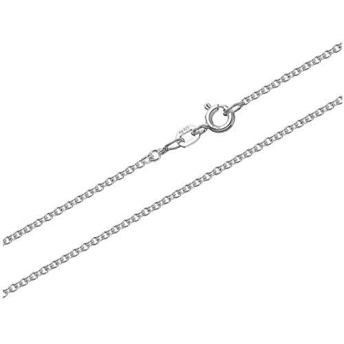 NKlaus 80cm anchorchain cadena de plata de ley 925 collar masivo redondo 7,1gr 2,00mm 3514