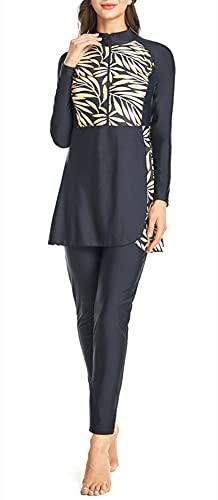 Modesto Costumi da bagno Hijab Copertura Completa Costume Da Bagno Costume Da Bagno Spiaggia Bikini Musulmano Costume Da Bagno, Y2, L