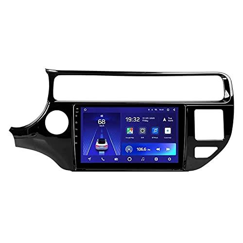 ZHFF Car Stereo Android 10.0 Radio Head Unit Compatible Kia Rio 4 K3 2015-2017 Navegación GPS 9 Pulgadas HD Pantalla táctil Reproductor Multimedia MP5 Receptor de Video con WiFi SWC Mirrorlink