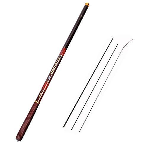 Goture Tiges de pêche télescopiques en Fibre de...