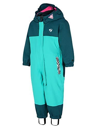 Ziener Kinder ANUP mini (overall ski) Baby Schneeanzug/Skioverall | Wasserdicht, Winddicht, Warm, Mermaid Green, 86