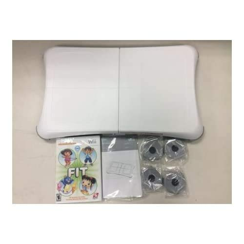 Wii Fit Balance Board - Nickelodeon Wii Fit Game INCLUDED for Nintendo Wii (Bulk Packaging)