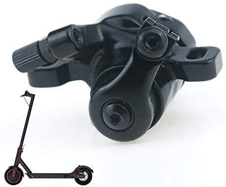 Linghuang - Freno de scooter eléctrico para Xiaomi M365, freno mecánico a izquierda, freno de disco para patinetes eléctricos reemplazables, accesorios de dispositivo de freno