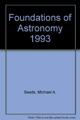 Foundations of Astronomy 1994